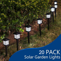 Oriental Lantern Garden Path Lights LED Solar Power Fairy Yard Outdoor Lawn Lamp