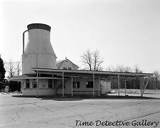 Abandoned Milk Can Ice Cream Parlor, Rhode Island - Historic Photo Print