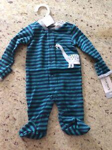 Baby Boy Sleeper Size Preemie By Carter's NWT