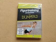 Training für die Figur für Dummies mit Gewichten Fitness Aerobic  DVD Neu OVP