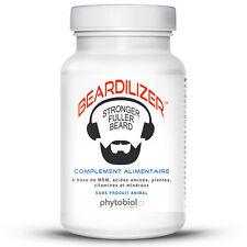 Beardilizer® - 1er Accélérateur de Pousse de Barbe - 90 Capsules