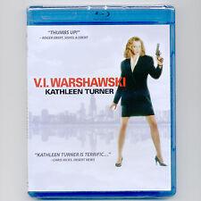 V.I. Warshawski R private detective mystery movie, new Blu-ray, Kathleen Turner