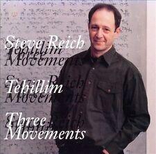 Reich: Tehillim / Three Movements; 1994 CD, Steve Reich, Michael Tilson Thomas,