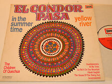 "LP EL condor pasa "" In the summertime"" Yellow river THE CHILDREN OF QUECHUA peru"
