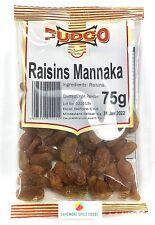 RAISINS - MANNAKA - FUDCO - DRY FRUIT - 75g