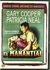 The Fountainhead (El Manantial) - UK Region 2 Compatible DVD Garry Cooper NEW