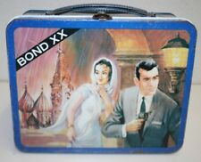 Nice Vintage 1969 James Bond XX Scarce Spy Ohio Art Metal Lunchbox C8+ RARE WOW