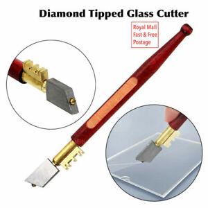 DIAMOND GLASS/TILE CUTTER Mirror Score Slice Cut Break Mark Precision Hand Tool