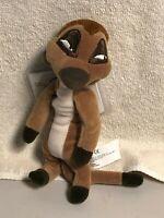 """Disney Timon 8"""" Mini Bean Bag Plush NWT The Lion King"""
