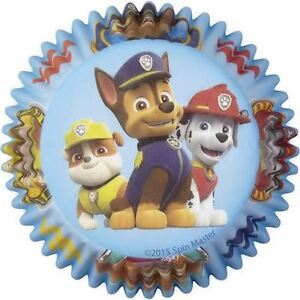 Paw Patrol Cupcake Baking Cups 50 ct from Wilton 7900 NEW
