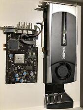 HP NVIDIA Quadro 6000 6GB GDDR5 PCI Express with Altera Quadro SDI Output Card