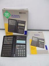 Hewlett Packard Financial Calculator HP 19BII Business Consultant II +Box Manual