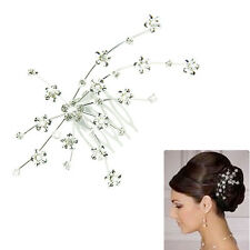 Personality Gem Crystal Wedding Bridal Jewelry Princess Hair Jewelry Accessories