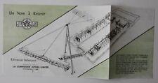 JUTRAS Elevateur balançant 1950s dealer brochure - French - Canada - ST501001018