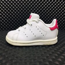 Adidas Stan Smith (Toddler Size 4K) Athletic Sneaker White/Pink Shoe