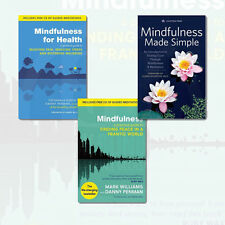 Meditation&Mindfulness Various Popular Psychology 3Books Collection Paperback
