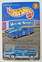Hot Wheels Redline 1998 LTD ED Van de Kamp's '67 PONTIAC GTO Metallic Blue  MINT