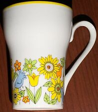 Vintage STYLECRAFT Item 1261 Japan Coffee Cup Mug NEW Blue Birds & Flowers