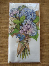 Flour Sack Towel Designed by Mary Lake Thompson - Hydrangea Bouquet