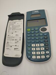 Texas Instruments TI-30XS Multiview Scientific Calculator, it Works!
