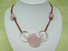 Bergkristall-Schönheits Echtschmuck-Halsketten