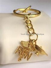 RN Nursing Caduceus Nightingale Lamp Keychain Purse Tag Nurse Graduation Gift