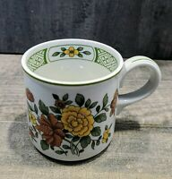 """Vintage Villeroy & Boch SUMMER DAY Tea Cup Discontinued Pattern, 3"""" Tall"""