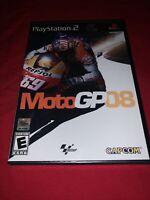 MotoGP 08 (Sony PlayStation 2, 2008) New Sealed