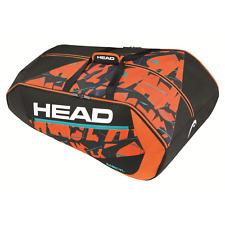 Head Radical 12R Monstercombi Tennis Racquet Racket Bag - Black/Orange