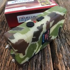 MONSTER CAMO 18 Million Volt Stun Gun Rechargeable w/LED light & HOLSTER K