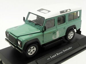 Cararama 1/24 Scale Diecast 125115 - Land Rover Defender - Green