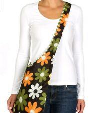 Envirosax Slingsax Messenger Bag, Floral & Dot Pattern, Brand New