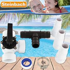 Steinbach Bypass Adapter für Pool Schwimmbad Heizung Poolheizung Solarkollektor