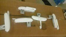 New Set of 5 White Window Casement Lock Actuators Ashland Hardware