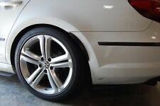 "Pair 13"" Black Unpaint Bumper Quarter Panel Diffuser Fender Flares Lip For Dodge"