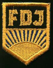 FDJ East German Free German Communist Youth patch Freie Deutsche Jugend NEW