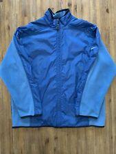 NIKE Size L Vintage Fleece Jacket in Blue Men's