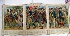 """Vintage 1906 Patriótico """"The de Joven Compañía 'Minutemen' Calendario"""
