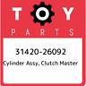 31420-26092 Toyota Cylinder assy, clutch master 3142026092, New Genuine OEM Part