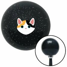 Cat Head Black Metal Flake Shift Knob with M16 x 1.5 Insert bbc procharger