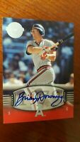 2004 BRIAN DOWNING Auto  SP #163 UD Timeless Teams  Short Print  !