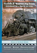 NORFOLK & WESTERN BIG STEAM SUNDAY RIVER PRODUCTIONS NEW DVD VIDEO