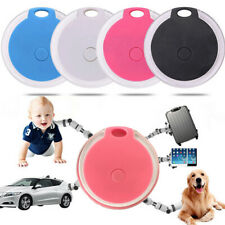 More details for mini bluetooth pet anti-lost gps tracker finder device for kids cat dog keys new