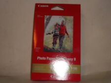 "2 boxes Canon Photo Paper Plus Glossy II 4"" X 6"" 100 Sheets per box Must See"