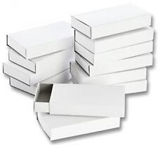 folia 2407 - Streichholzschachteln blanko groß 12-er Pack weiß