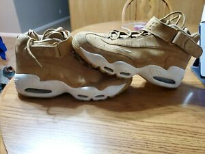 Men's Size 12 Nike Air Griffey Max 1 Flax Wheat Sail White Sneakers 354912-200