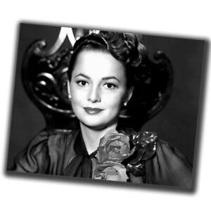 Olivia de Havilland FINE ART Vintage Retro Photo Glossy Big Size 8X10inch α075