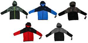 Under Armour Boys Zip Up Micro Fleece Hoodie Jacket - Size YSM YMD YLG YXL - NWT