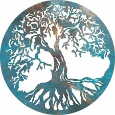 DXF CNC dxf for Plasma Tree Of Life #2 Vector Metal Wall Art Dxf