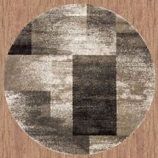 New Collection of Modern Round Rug Carpet Thick Soft Pile in 3 sizes